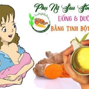 tinh bot nghe cho phu nu sau sinh 300x300 - Tinh Bột Nghệ Làm Đẹp